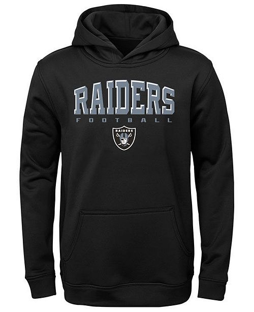 Outerstuff Big Boys Oakland Raiders Fleece Hoodie