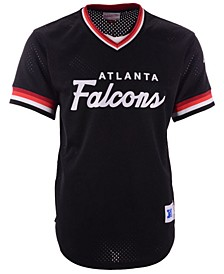 Men's Atlanta Falcons Special Script Mesh V-Neck Top