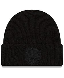 Boston Celtics Blackout Knit Hat