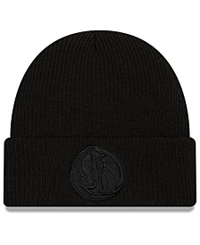 Dallas Mavericks Blackout Knit Hat