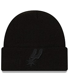 San Antonio Spurs Blackout Knit Hat