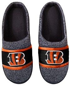 Cincinnati Bengals Poly Knit Slippers