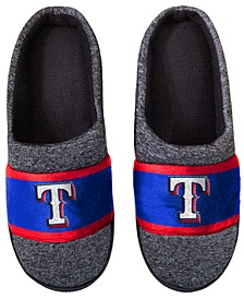 Texas Rangers Poly Knit Slippers