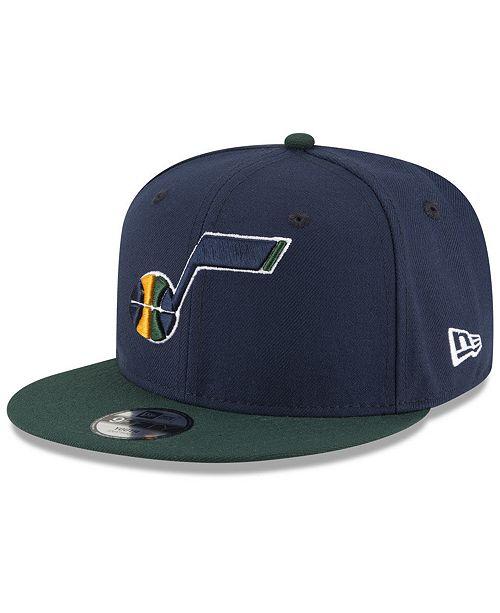 New Era Boys' Utah Jazz Basic 9FIFTY Snapback Cap