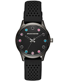 Women's Silicone Strap Watch 32.5mm