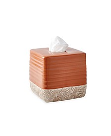 Pineapple Palm Tissue Box Cover
