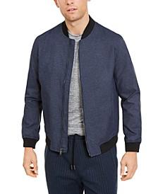 Men's Full-Zip Bomber Jacket, Created for Macy's