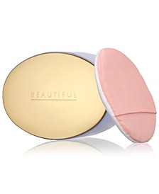 Beautiful Perfumed Body Powder (with Puff), 3.5 oz