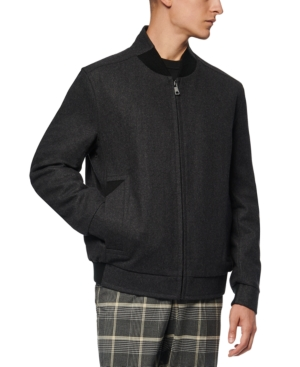 Marc New York Jackets MEN'S BARLOW WOOL BOMBER JACKET