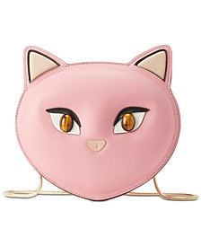 Cat North South Crossbody Bag