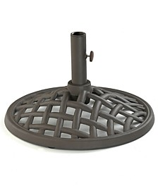 Oasis Cast Iron Outdoor Umbrella Base, Created for Macy's