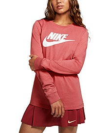 Women's Sportswear Essential Cotton Logo Top