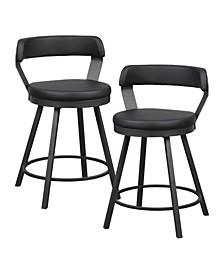 Cabezon Counter Height Swivel Stool (Set of 2)