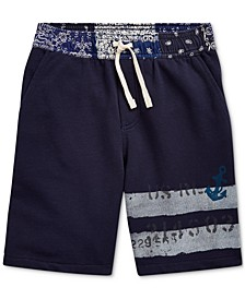 Big Boys Cotton French Terry Shorts