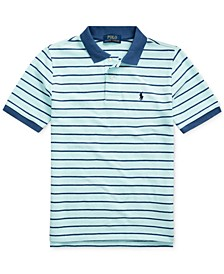 Big Boys Cotton Mesh Polo Shirt