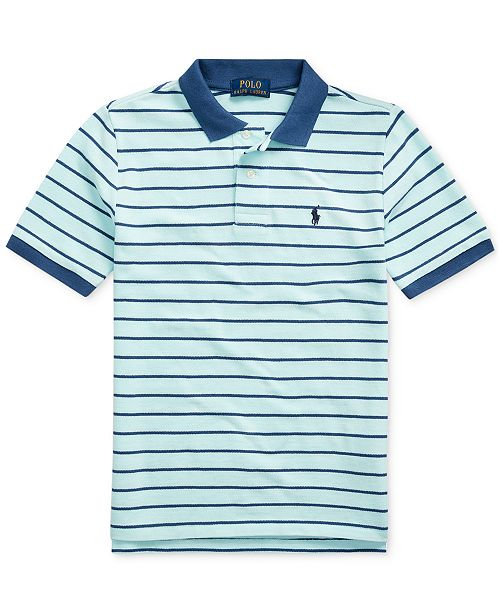 Polo Ralph Lauren Big Boys Cotton Mesh Polo Shirt