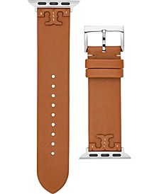 Women's McGraw Luggage Leather Apple Watch® Strap