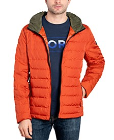 Michael Kors Men's Down Blend Puffer Jacket, Created for Macy's
