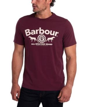 Barbour T-shirts MEN'S MAX LOGO GRAPHIC T-SHIRT
