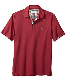 Men's Limited Edition 5 O'Clock Classic-Fit IslandZone Moisture-Wicking Piqué Polo Shirt