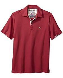 Men's Big & Tall Limited Edition 5 O'Clock Classic-Fit IslandZone Moisture-Wicking Piqué Polo Shirt