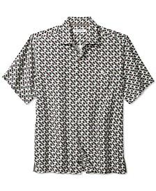 Men's Poolside Geometric Short Sleeve Shirt