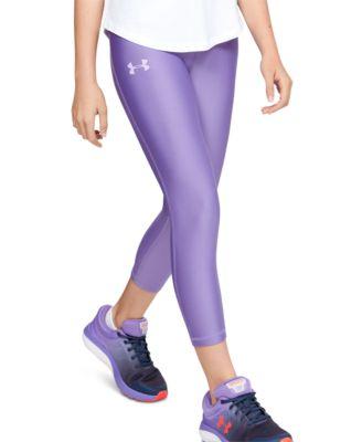 Under Armour Ankle Legging Junior Girls Purple