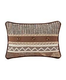 J Queen Timber Linen Boudoir Decorative Throw Pillow