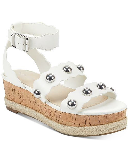 Marc Fisher Fayth Flatform Sandals