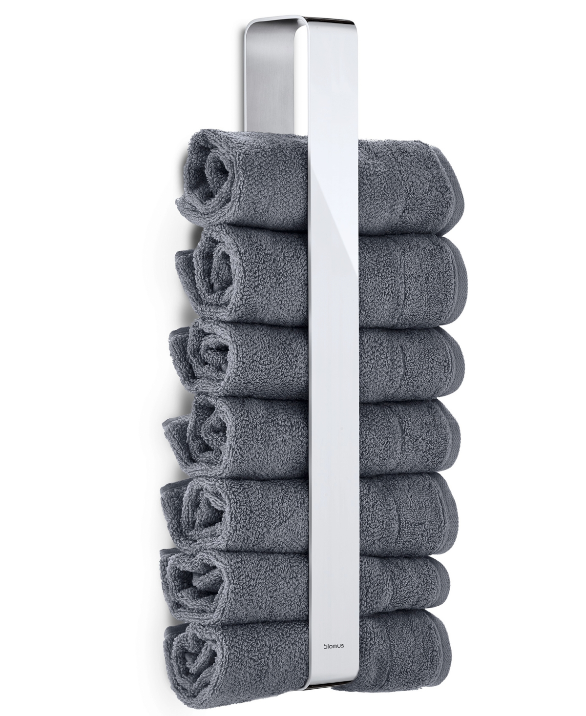 blomus Stainless Steel Towel Holder - Polished Bedding