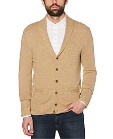Men's Shawl Collar Cardigan Sweater