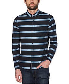 Men's Engineered Horizontal Stripe Shirt