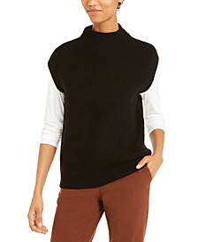 Sleeveless Mock-Neck Sweater, Created For Macy's