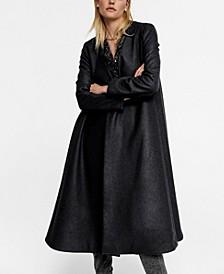 Leandra Medine Recycled Wool Oversize Coat