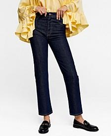 Leandra Medine Straight Fit Jeans