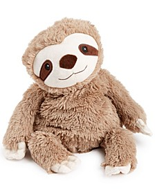Microwavable Plush Sloth