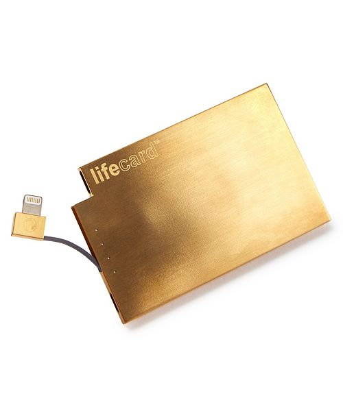 Plusus Lifecard Portable Power Charger