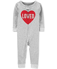 Baby Boys & Girls 1-Pc. Cotton Loved Pajama