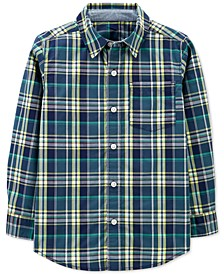 Little & Big Boys Plaid Cotton Shirt