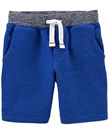 Toddler Boys Cotton Pull-On French Terry Shorts