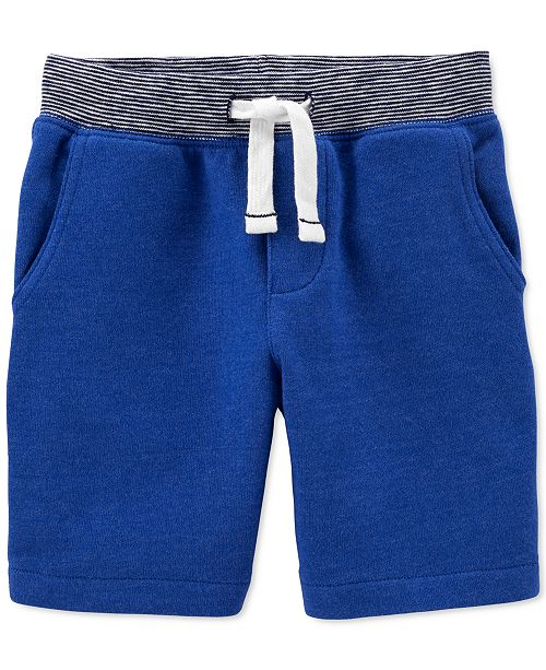 Carter's Toddler Boys Cotton Pull-On French Terry Shorts
