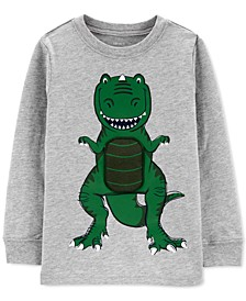 Toddler Boys Cotton Dinosaur Long-Sleeve T-Shirt