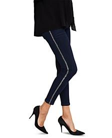 Indigo Blue Maternity Ankle Jeans, Secret Fit Belly Skinny Leg