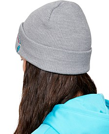 Toddler, Little & Big Girls Patch Beanie