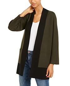 Colorblocked Kimono Cardigan