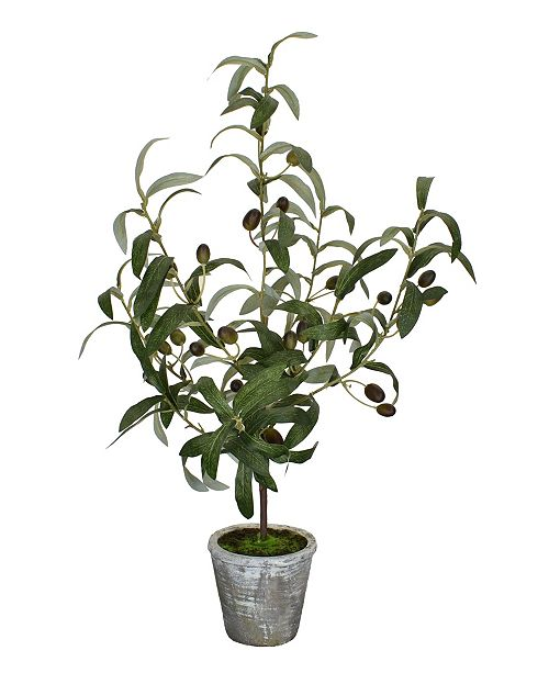 "Mills Floral 24"" H Artificial Olive Tree"