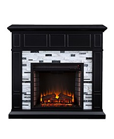 Lysander Marble Electric Fireplace