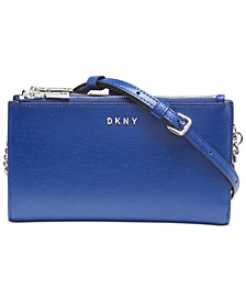 Bryant Leather Wallet Crossbody, Created for Macy's
