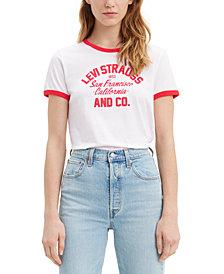 Levi's® Cotton Graphic Ringer T-Shirt