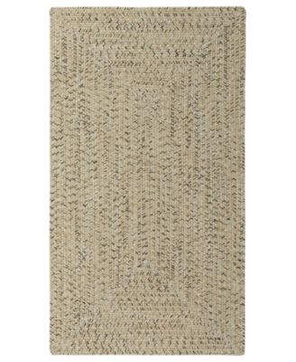 Sea Glass Rectangular Braid 4' x 6' Indoor/Outdoor Area Rug